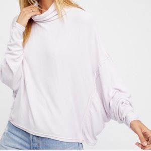 Free People | Alemada Turtleneck Oversized Top